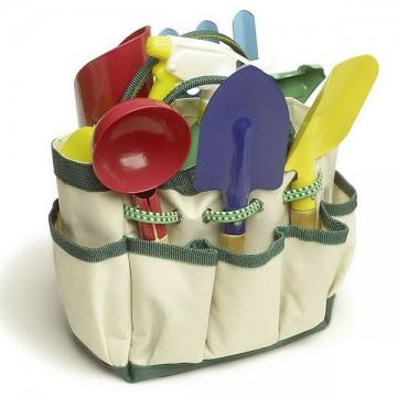 Sac pour le jardin avec outils 8 pièces