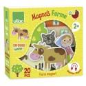 Jouet Magnets de la ferme 20 pièces
