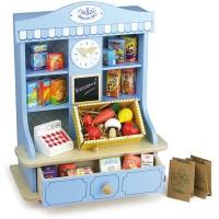 La jolie petite épicerie jouet en bois pour enfant