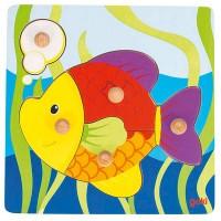 Puzzle encastrement poisson