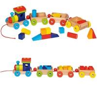 Train Orlando avec 14 briques de construction