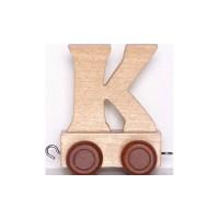 Train de lettres - Lettre K