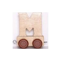 Train de lettres - Lettre M