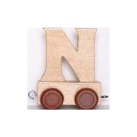 Train de lettres - Lettre N