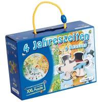Puzzle éducatif 4 saisons XXL