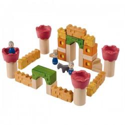 Bloc de construction Château en bois, 35 pièces