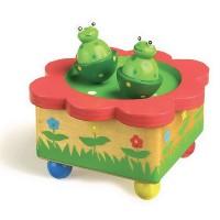Boite à musique la danse des grenouilles