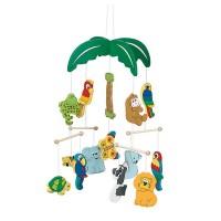 Mobile Palmier avec des animaux