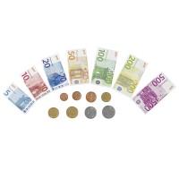 Jeu argent factice billets et monnaie banque