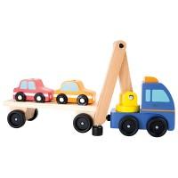 Camion voitures avec grue