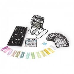 Jeu de Bingo X avec 18 cartes et 75 boules