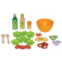 Le jouet Salade du potager en bois