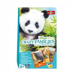 Crazy families - Jeu de 7 familles Disneynature