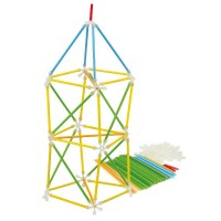 Set constructeur Architectrix 97 pièces en bambou