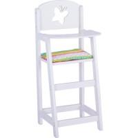 Jouet chaise haute pour poupée