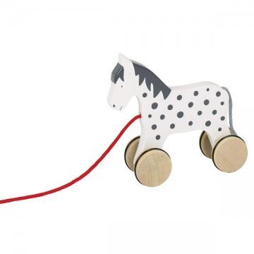 Cheval jouet à tirer