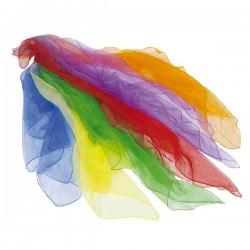 Foulards en tissu pour jongler