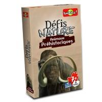 Jeu de cartes - Défis nature-Animaux Préhistoriques