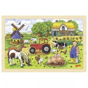 Puzzle La ferme des meuniers 24 psc