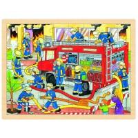 Puzzle, Brigade de pompiers, 48 psc