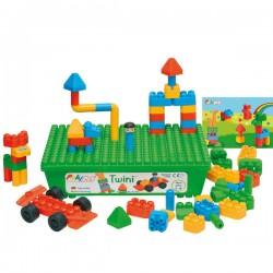 Twini-Poly M-Jeu de construction-58 psc