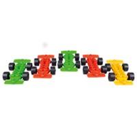Set de 5 voitures de course-Poly M