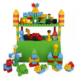 First Blocks jeu de construction,118 psc Poly M