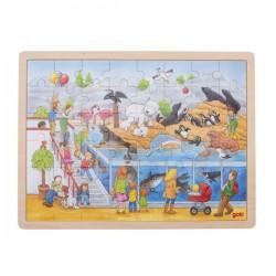 Puzzle visite au zoo 48 psc