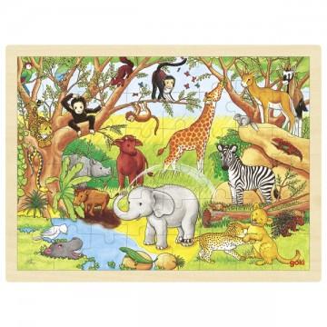 Puzzle Afrique 48 psc