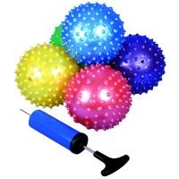 Balles de massage avec pompe, 25 psc