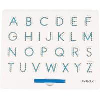 Tableau magnétique lettres majuscules