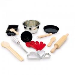 Jouet -Set de pâtisserie avec 18 accessoires