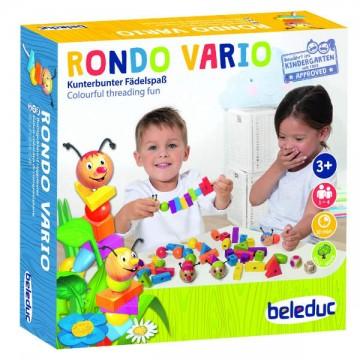Beleduc Rondo vario - jeu de couleurs et formes en bois