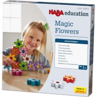 Fleurs Magiques 3D à emboîter