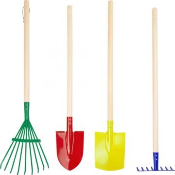 Lot d'outils de jardin pour enfant